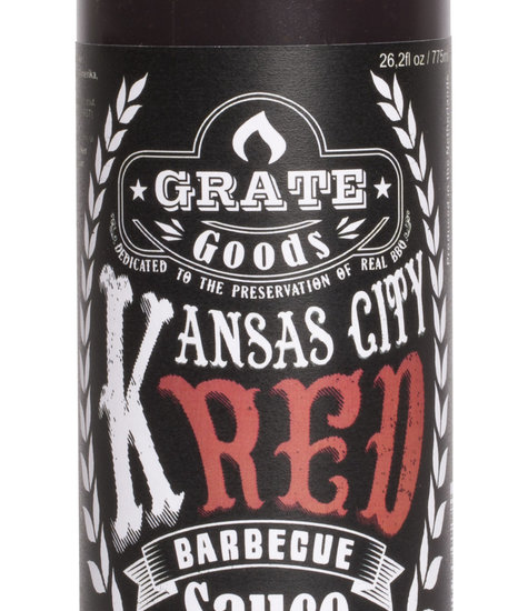 Grate Goods Kansas City Red Barbecue Sauce Large 775 ml