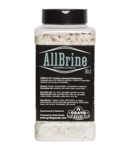 Grate Goods Allbrine Nr.1 strooibus 800 gram