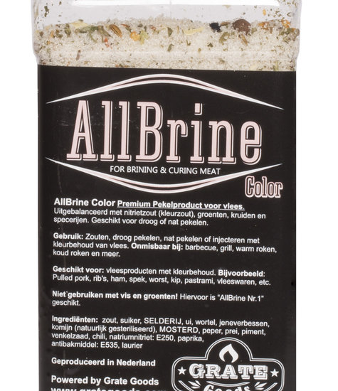 Grate Goods Allbrine Color strooibus 800 gram