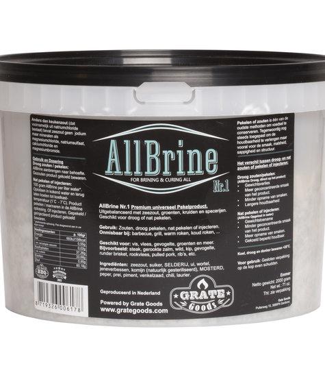 Grate Goods Allbrine Nr.1 emmer 2 kilo