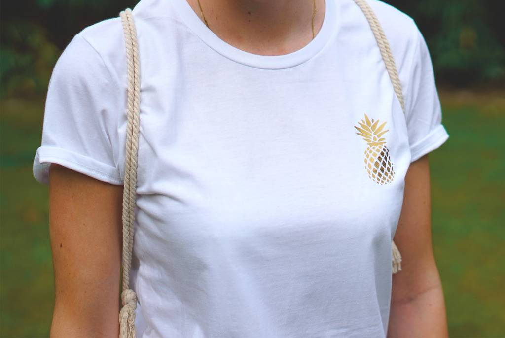 livstil Ananas Logo - Shirt
