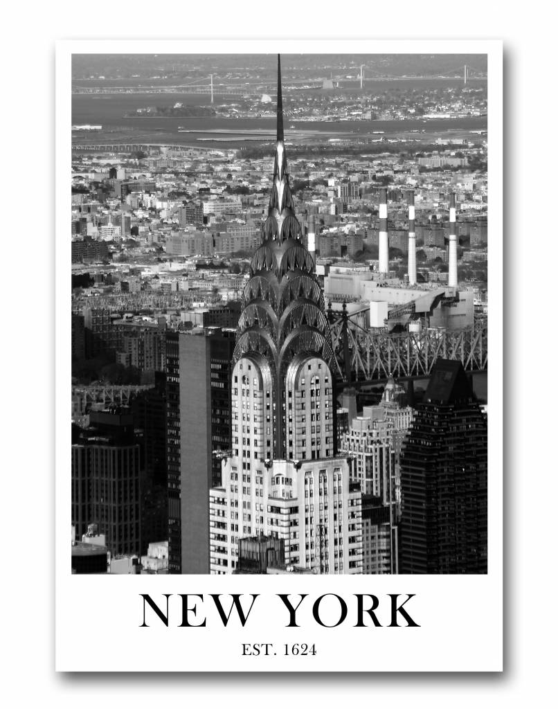 livstil New York Crysler Building