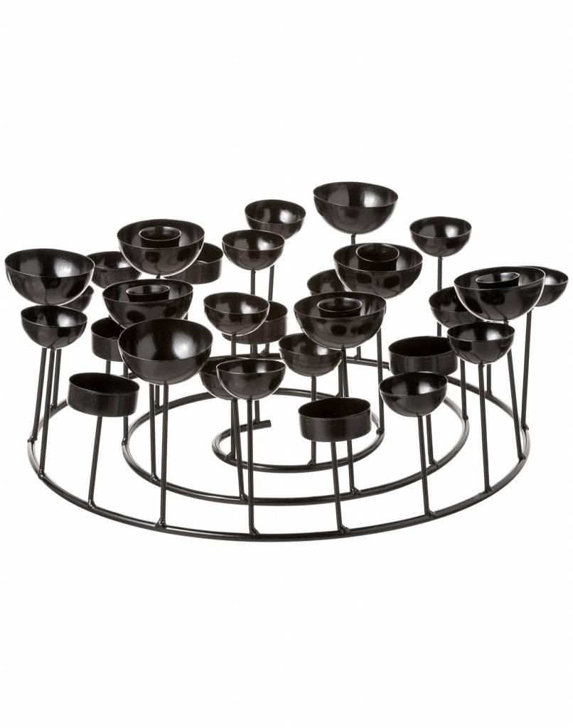GIFT Company Kerzenständer Schwarz - S