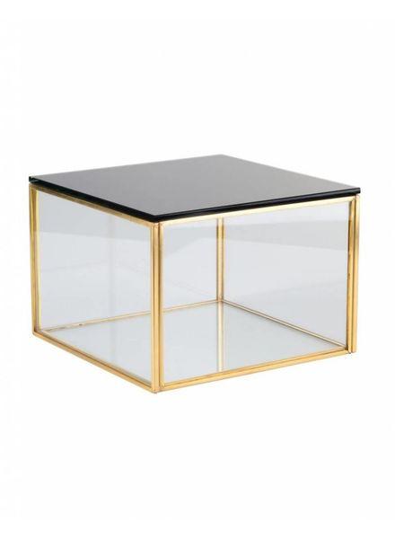Glasbox Display Gold