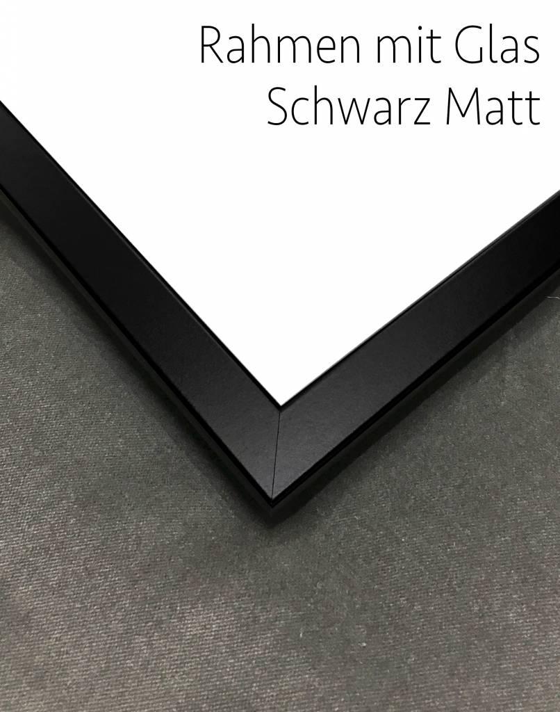 livstil Rahmen Breit Schwarz