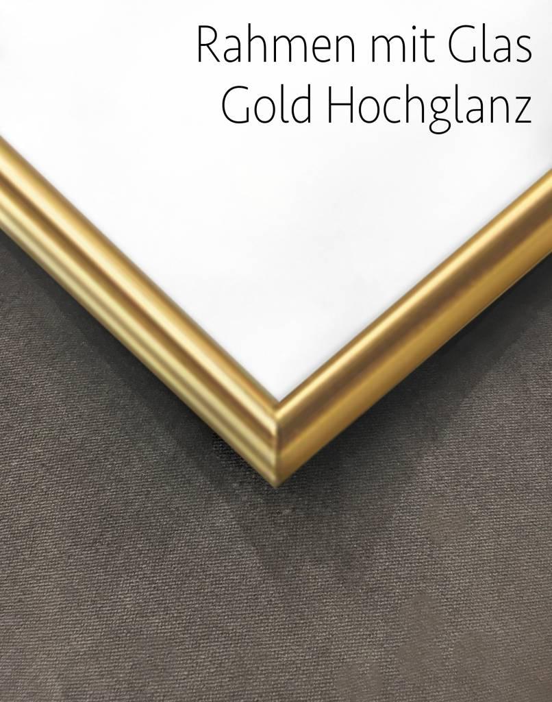 livstil Rahmen Slim Gold