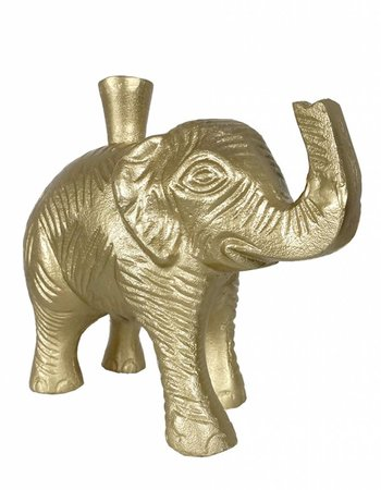 livstil Elefant Kerzenhalter