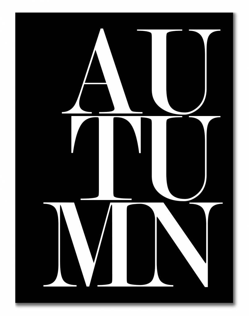 livstil Autumn black