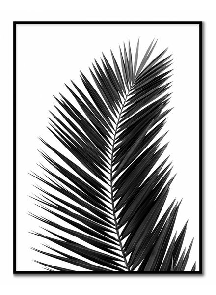 livstil Palm Leaf Black