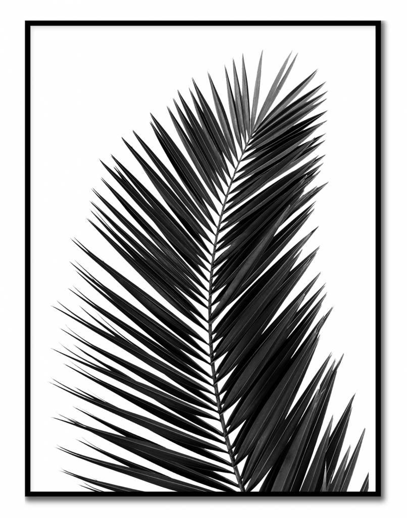 livstil Palm Leaf Black