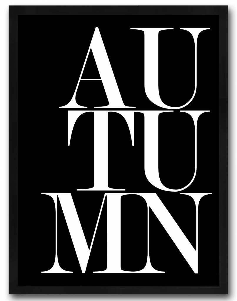 livstil Autumn black
