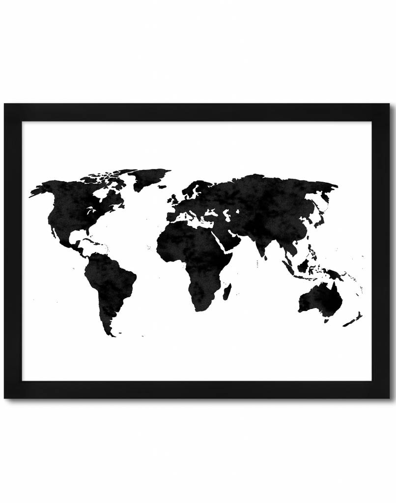livstil Weltkarte