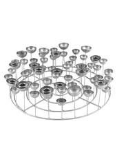 GIFT Company Kerzenständer Silber L