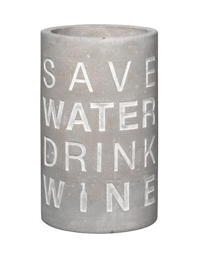 Räder Weinkühler ,,SAVE WATER''