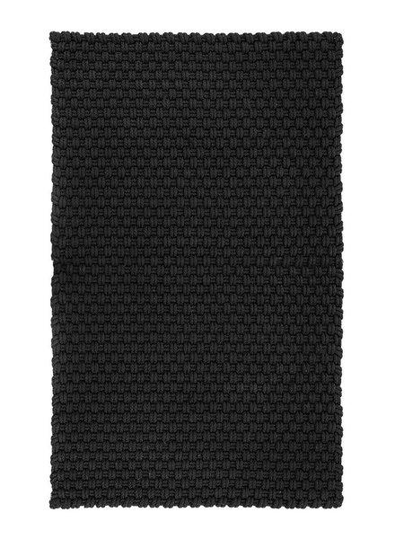 Fußmatte  schwarz