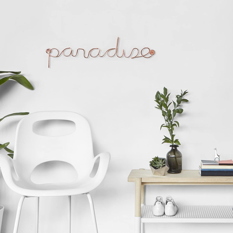 Schriftzug ,,PARADISE''