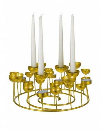 GIFT Company Kerzenständer Gold S