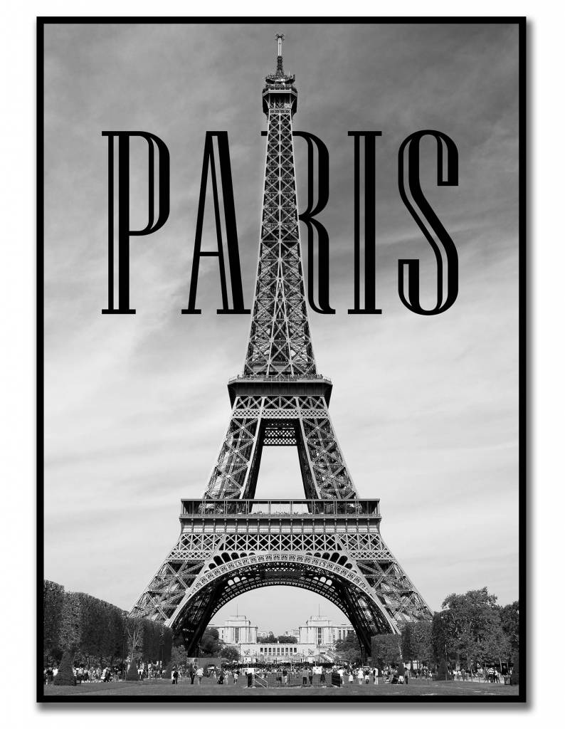 livstil PARIS - Poster