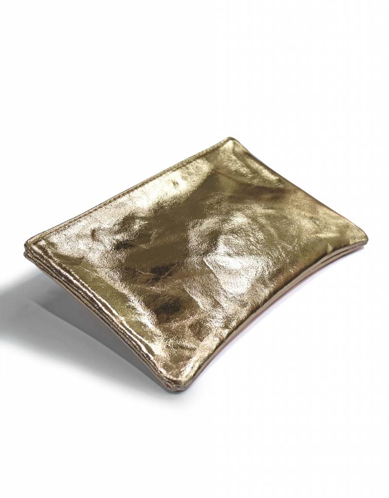 Clutch/Kosmetik Gold-Metallic