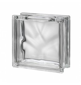 Bouwglas Glassblock with hole