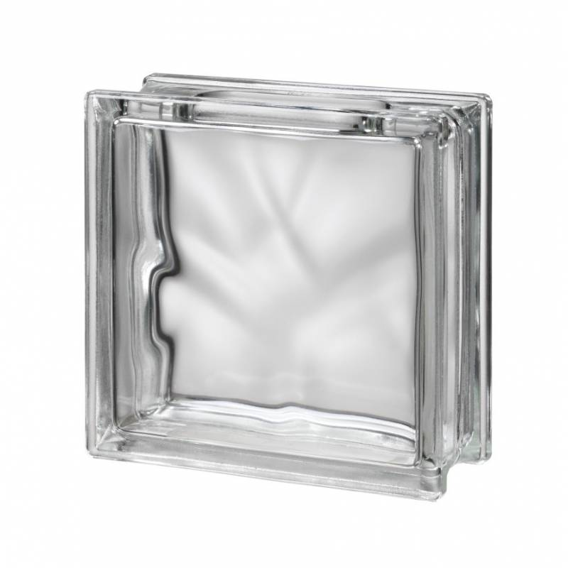 Bouwglas Glassblock with open side