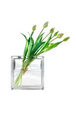 Bouwglas Hobby glasblok zonder verf met opening