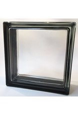 Bouwglas 190x190x80  Clear Black Edge
