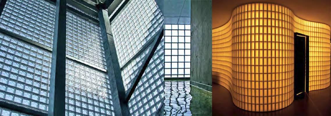Glazen bouwstenen
