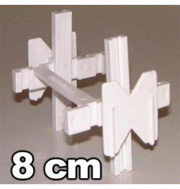 Voegkruisjes 10mm voor stenen van 8cm dik