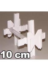 Voegkruisjes 10mm voor stenen van 10cm dik