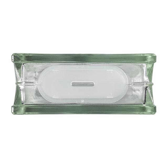 Bouwglas Glassblock with open side -Clearview