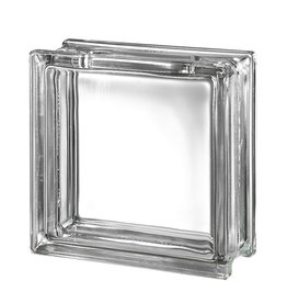 Bouwglas Glassblock with hole - Clearview