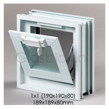 Bouwglas Window for 1 pc. glassblock