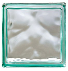 Bouwglas 190x190x80 Reflejos Verde