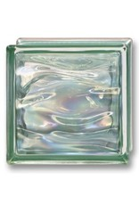 Bouwglas 190x190x80 Agua Perla Verde