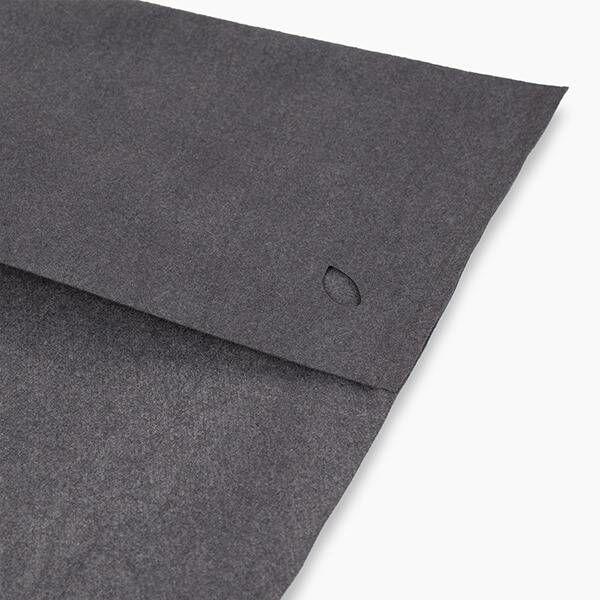 nu:ju® SPORT nu:ju Fitness-Handtuch aus Evolon® mit 3 Funktionen, silberionisiert | 1er Pack ( ca. 70 x 130 cm) in Dark Grey