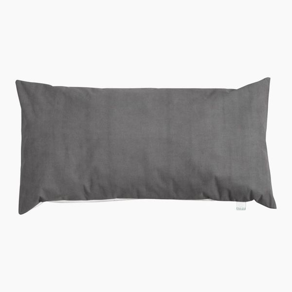 nu:ju® HOME Anti-allergy pillowcase SOFT TOUCH made of Evolon®, silver-ionised | 1 piece in 80 x 40 cm, Grey/White