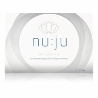 "nu:ju® BEAUTY nu:ju Microfiber facial cleansing cloths ""Sensitive"" made of Evolon®, silverized | 2 cloths incl. travel case"