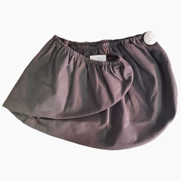 nu:ju® Sport nu:ju Mikrofaser Turban Handtuch aus Evolon®, silberionisiert | 1er Pack One Size