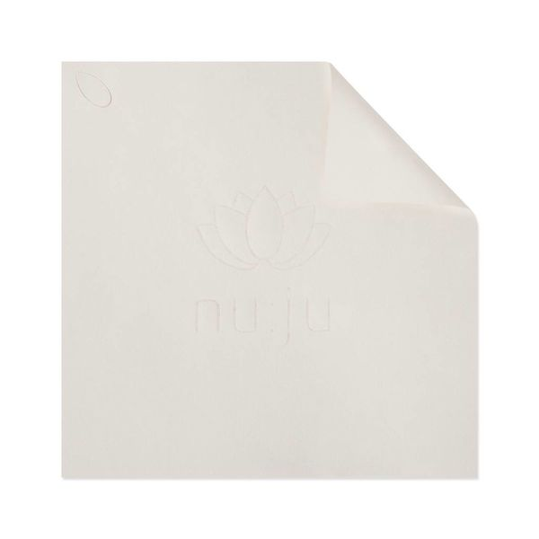 """nu:ju® Beauty nu:ju microfibre facial cleansing cloth """"get them all"""" made of Evolon®, silver-ionized 