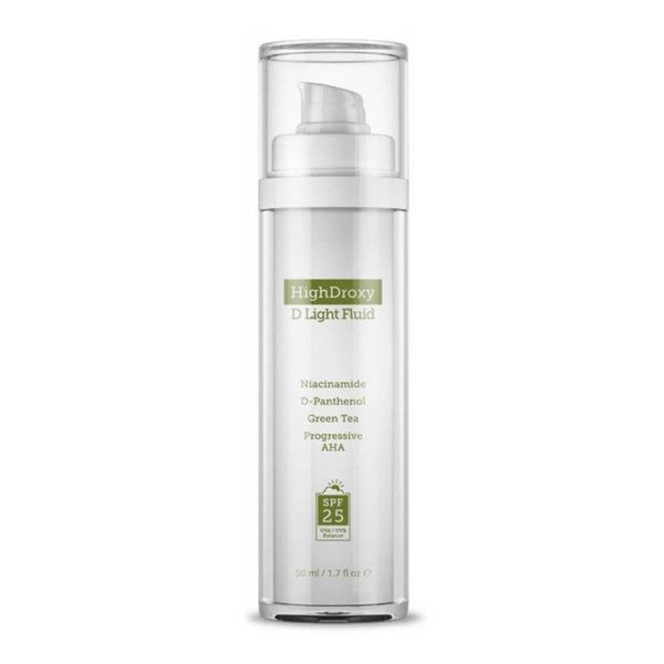 HighDroxy D LIGHT FLUID | Excellent UV protection and first-class care in one 50 ml