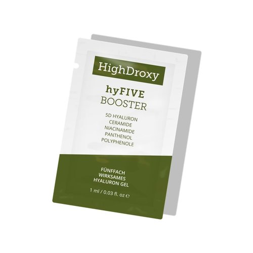 HighDroxy hyFIVE Booster sample | Free sachets a 1 ml