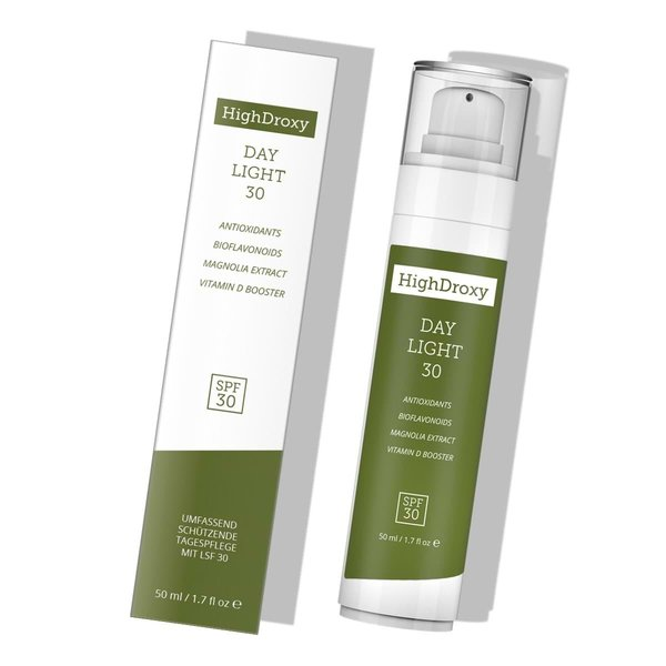 HighDroxy HighDroxy DAY LIGHT 30 | Nourishing daily fluid with LSF30 50 ml