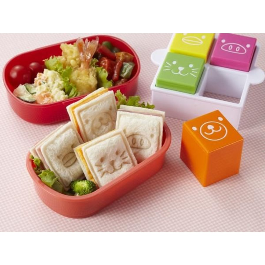 Sandwich Sando Animal Cutters & Stamps-2