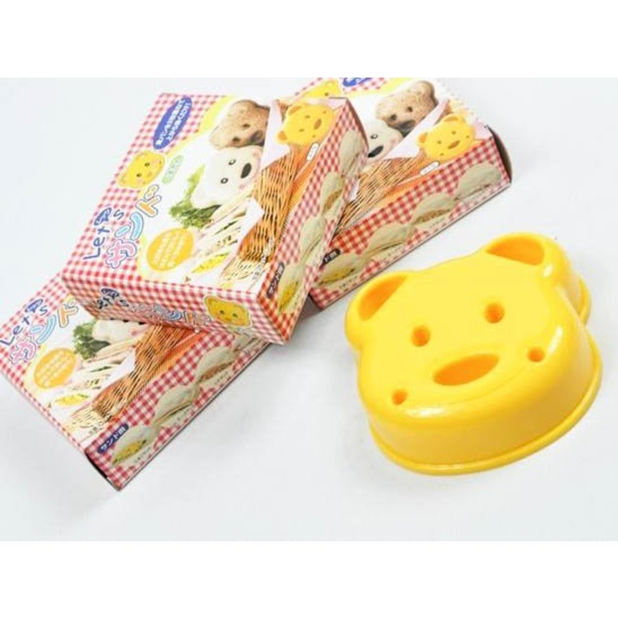 Sandwich Sando Bear Cutter & Stamp-1