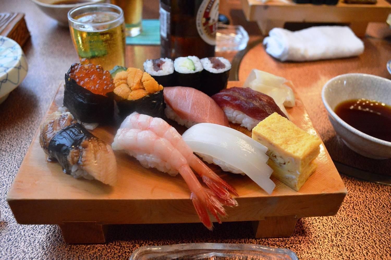 Hoe eet je sushi?