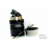 thumb-Stainless King™ Food Jar (0.47L - Metallic Blauw)-3