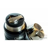 thumb-Stainless King™ Food Jar (0.47L - Metallic Blauw)-2