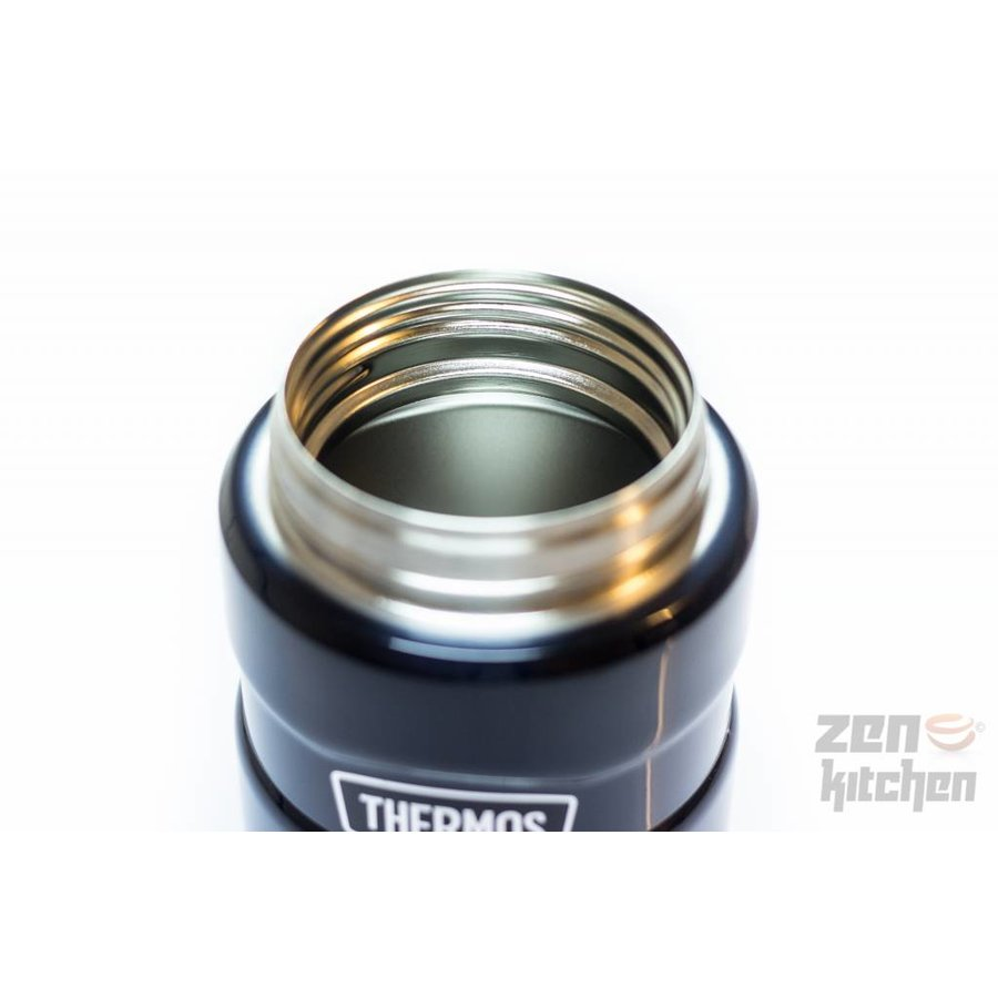 Stainless King™ Food Jar (0.71L - Spacegrijs)-5