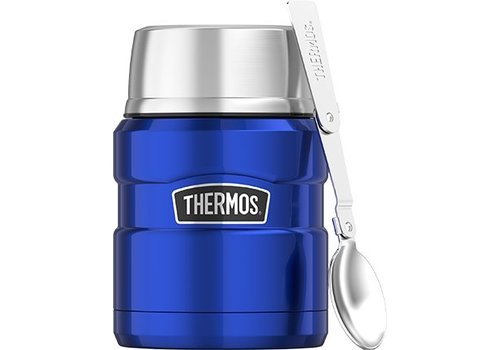 Thermos® Stainless King™ Food Jar (0.47L - Metallic Blauw)